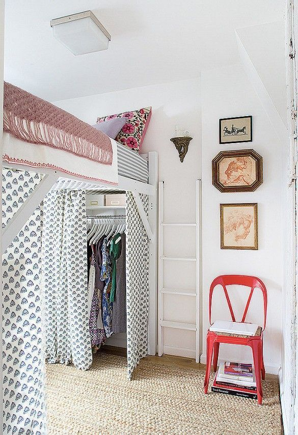 17 Tiny Bedrooms With HUGE Style Tiny loft, Loft bedrooms and Lofts