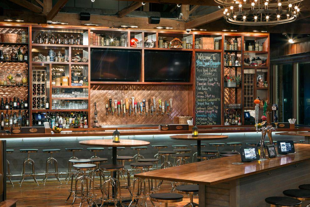 Back Bar Idea      Bay Street Biergarten Charleston SC Craft Beer Bar