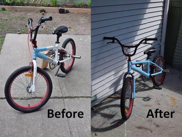 Spray Paint Your Bike Bmx Bikes Bmx Bike