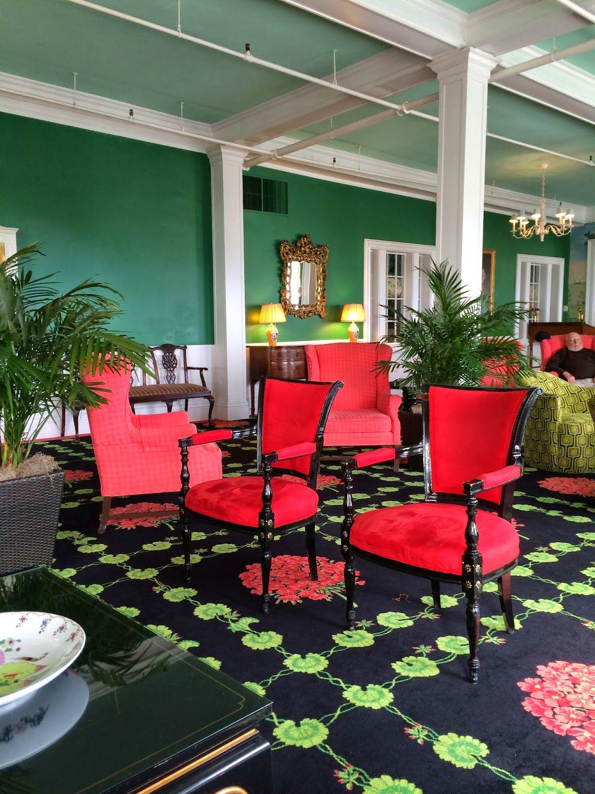Christa Pirl Furniture Interiors At The Grand Grand Hotel Mackinac Island Interior Design Student Hotels Design