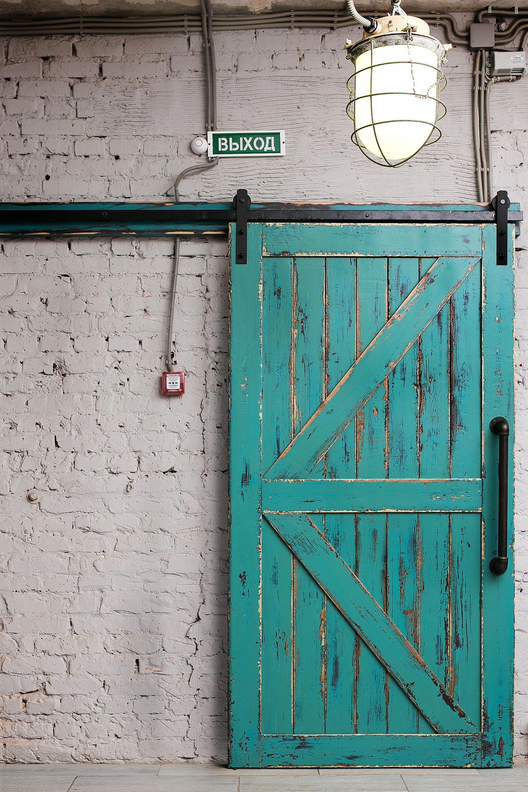 Barn Style Interior Doors Door Track Kit 4 Ft Barn Door Hardware Kit 20181203 Barn Door Barn Door Hardware Industrial Barn Door