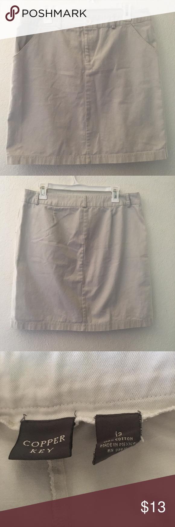 df2f2351c5 Juniors Jean just thinking of you.🔥🔥 Copper Key jean skirt size 13 Copper  Key Skirts Midi