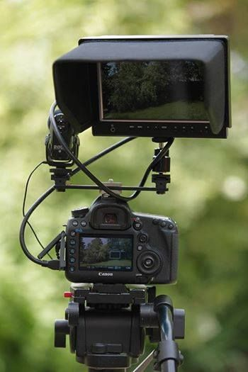 Field monitor V-764/O/P with Canon 5D MK III | Camera Top