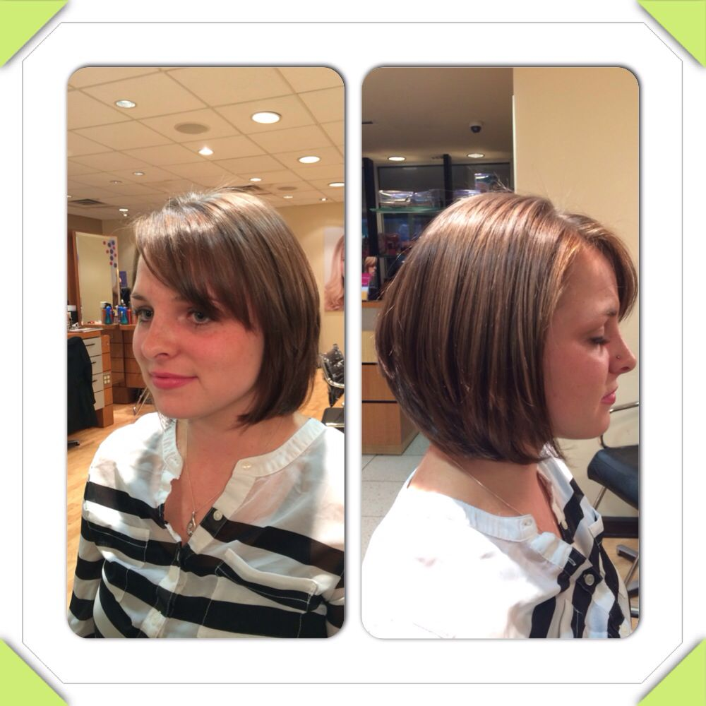 Shoulder Length Choppy Layer Cut With Side Bang My Hair Works