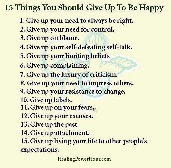 Why I'm Happy.