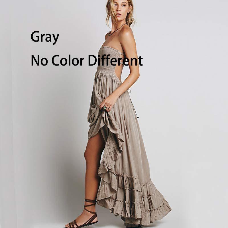 Tienda Boho Vestido Sin Halter Backless Verano Inspirado Online 8n0wXPkO