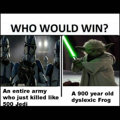 Image Result For Who Would Win Meme Prequel Star Wars Humor Funny Star Wars Memes Star Wars Jokes