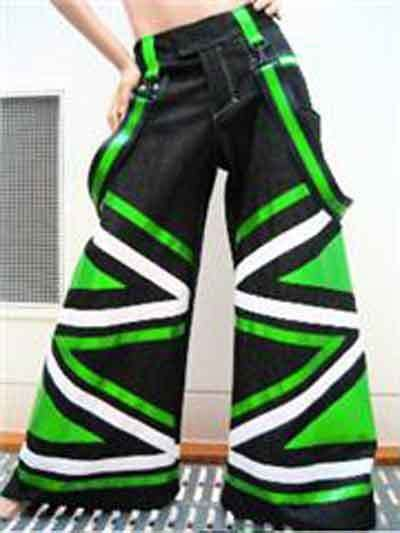 65b7bac20d81f One pair of shuffling pants... | River Cafe - PD | Rave pants ...