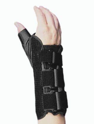 For the Thumb immobilization splint