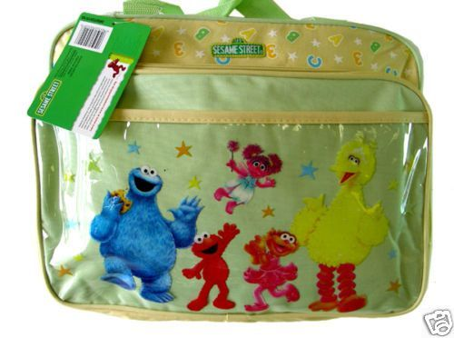 Sesame Street Large Baby Diaper Bag Shower Elmo New Bags