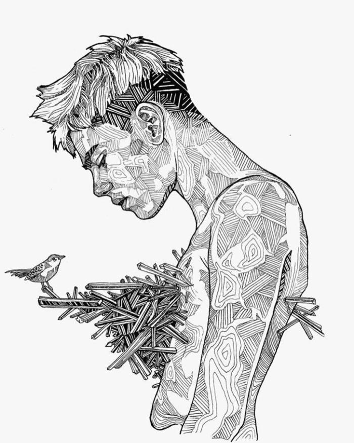 1001 Ideas De Dibujos Tumblr Bonitos Para Inspirarte En 2020 Dibujos Tumblr Dibujos Retratos De Chicas