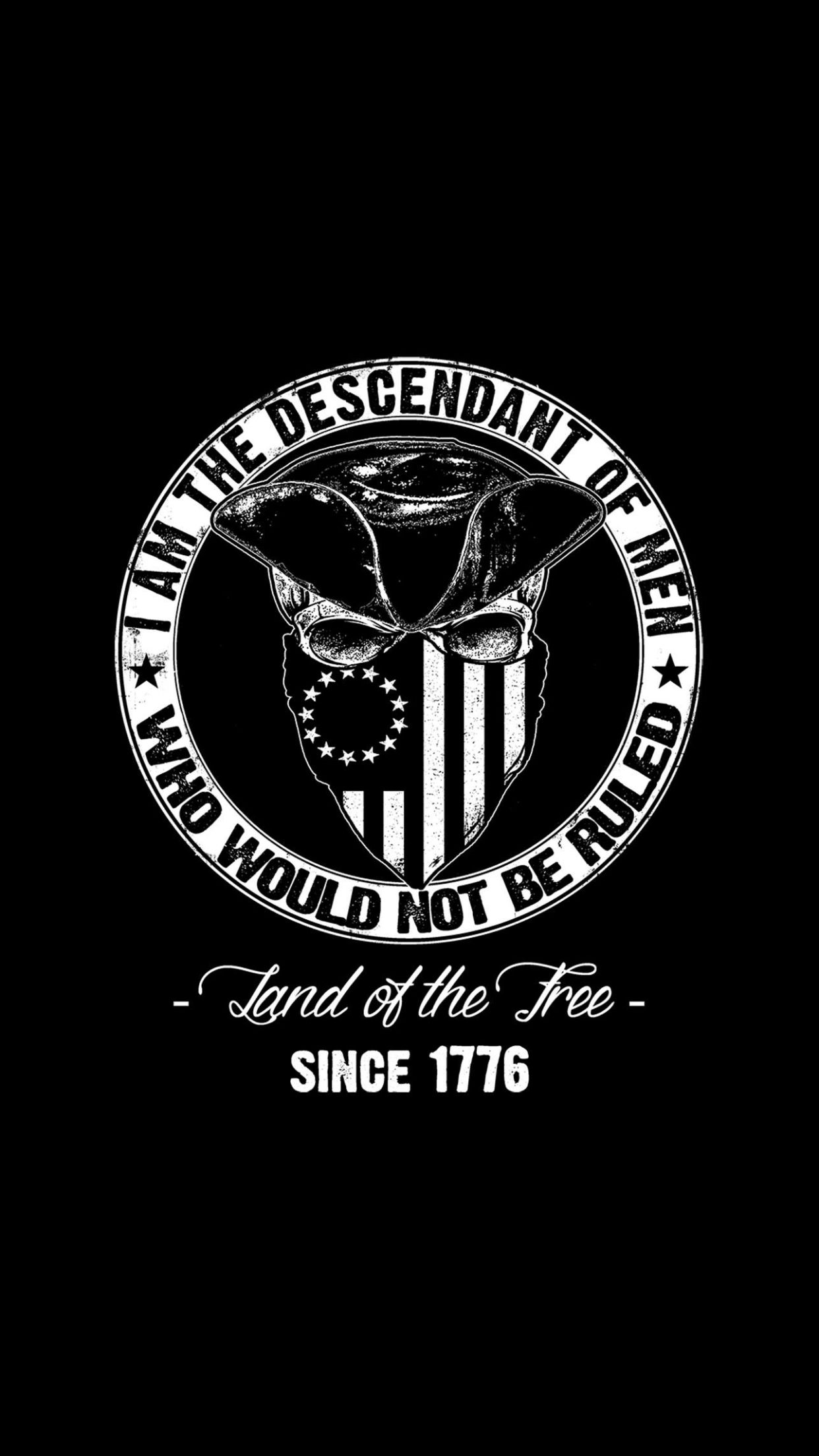 Sons Of Liberty USA 1776 Sticker Decal Merica 2A 3/% III/% 3 Percenter Freedom