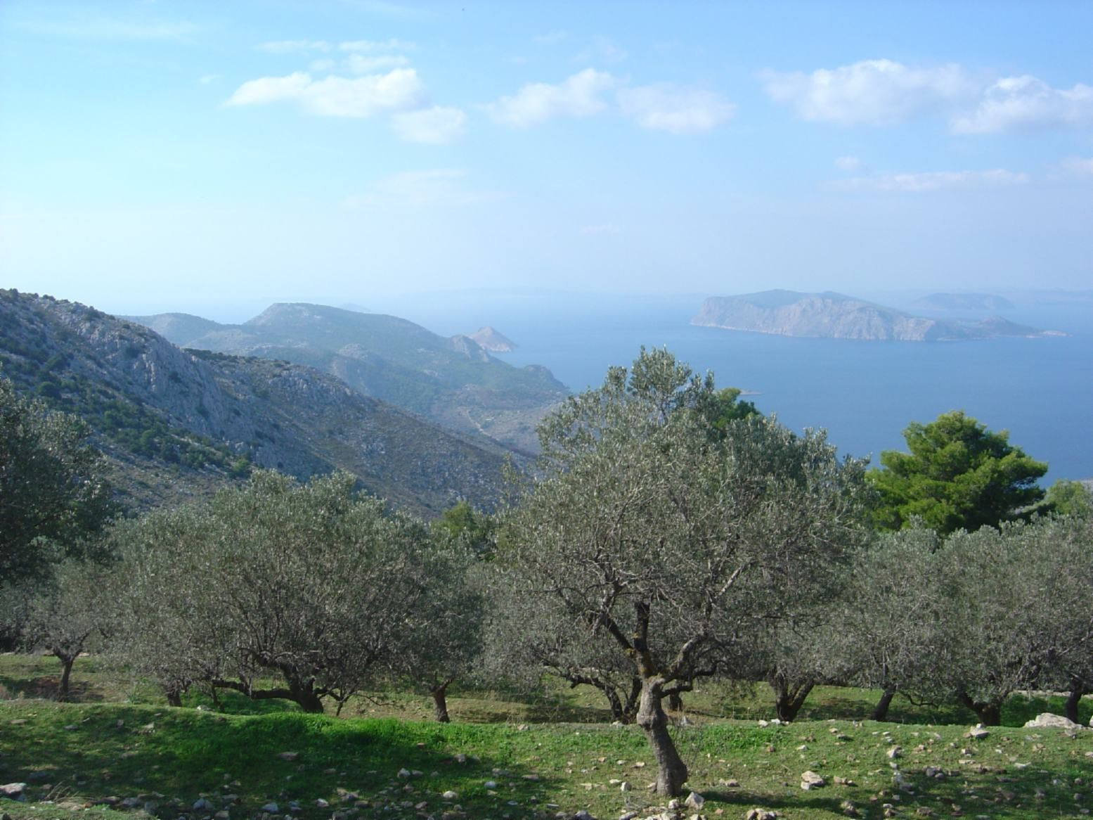 View from Monstery, Hydra Island, Greece