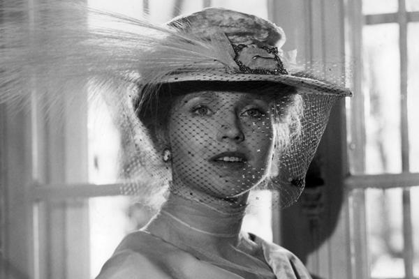 Hanna Schygulla In Rainer Werner Fassbinder S Effi Briest 1974 Beautiful Veil Film Hanna