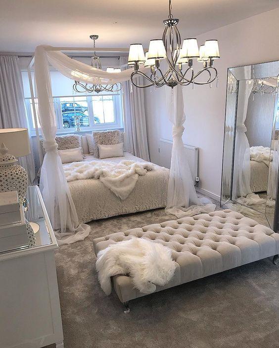 Schlafzimmer Dekoration Kleines Schlafzimmer Ruhezone