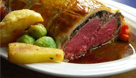 Bbc food recipes venison wellington smikkels pinterest venison wellington with port and chicken liver pate forumfinder Image collections