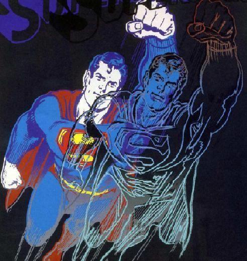 Andy Warhol Superman 1stdibs Com Andy Warhol Art Pop Art Art