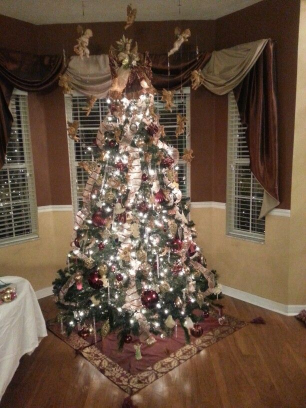 My 2013 Christmas tree in honor of