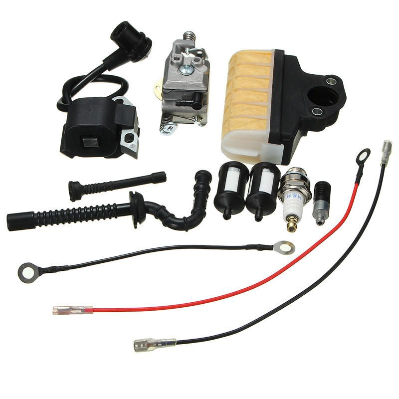 Carburetor Ignition Coil Kits For Stihl Chain Saw 021 023 025 Ms210 Ms230 Ms250 Motorcycle Accessories Parts From Automobiles Motorcycles On Banggood Com Ignition Coil Stihl Stihl Chainsaw