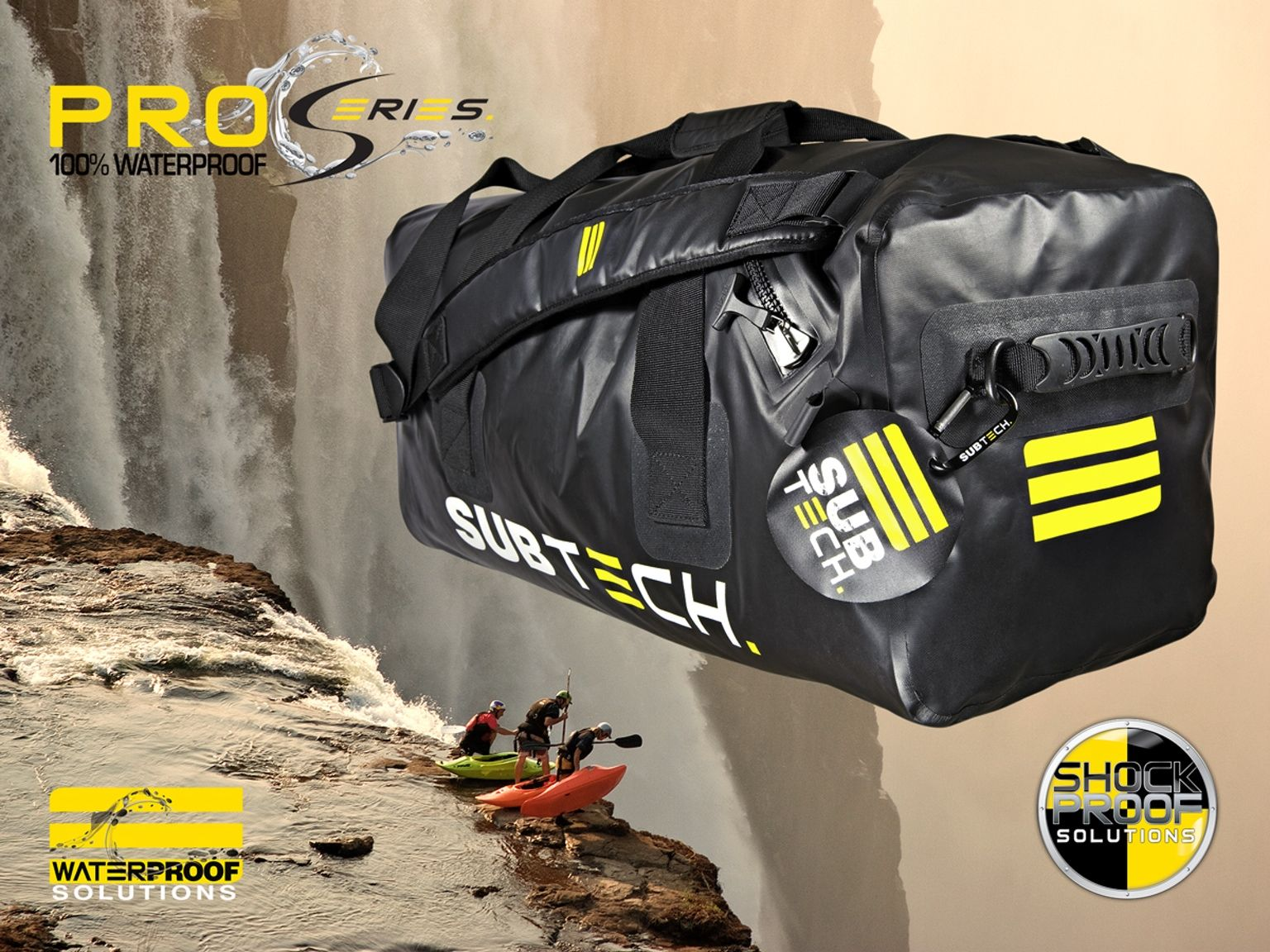 We aim to develop the most extreme sport bag available in the market and choose to not compromise on any materials or functions!