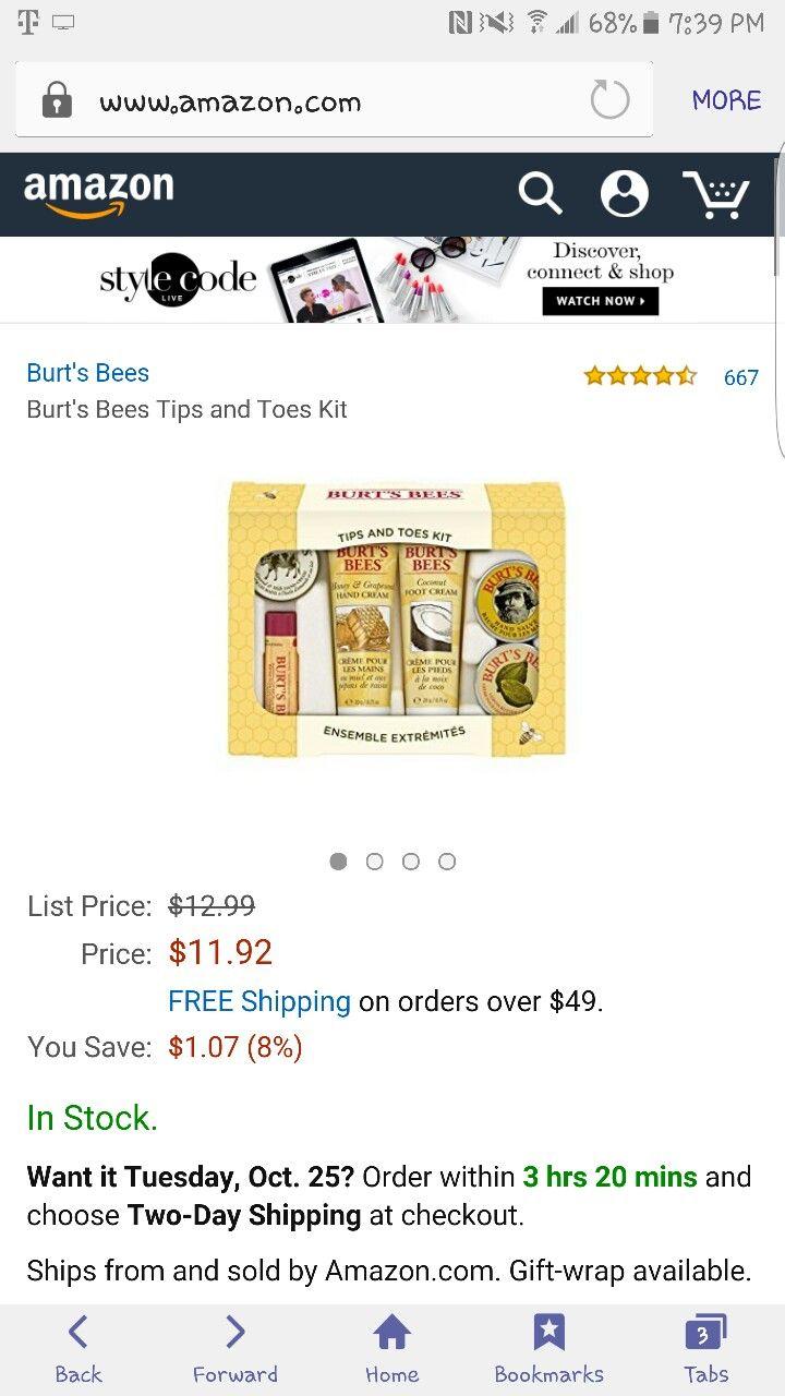 Amazon.com  Burton Bees Gift Set