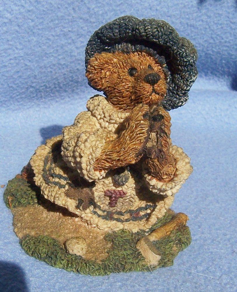 Details About Boyds Bear Kneeling Praying Figurine Playing Golf Please Help God Le Mint Boyds Bears Play Golf Bear