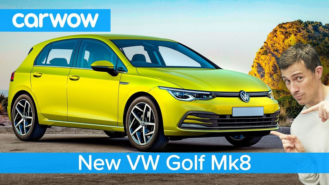 New Vw Golf Mk8 2020 See Why It S The Most Dramatic Change In The Car Vw Golf Youtube Video New