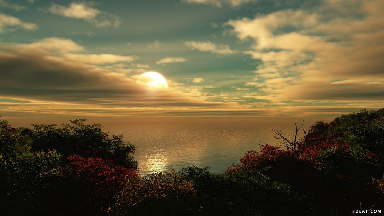 خلفيات للطبيعة لسطح المكتب صور طبيعية للكمبيوتر Sunset Wallpaper Nature Wallpaper Beautiful Sunset
