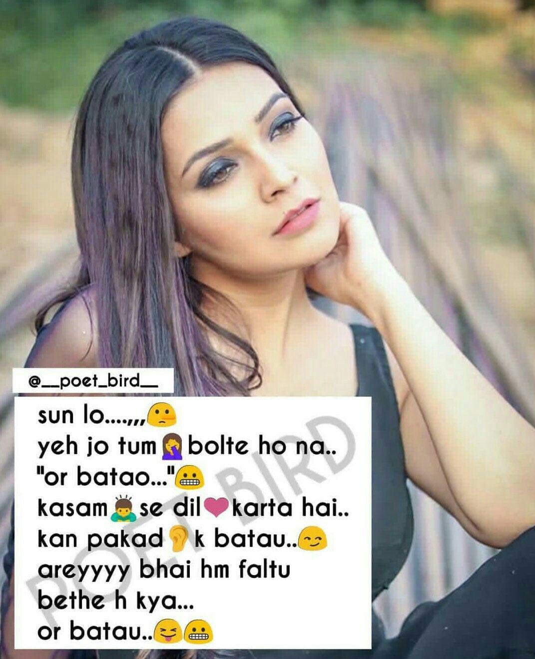Hahaha hahaha | Funny girl quotes, Cute attitude quotes