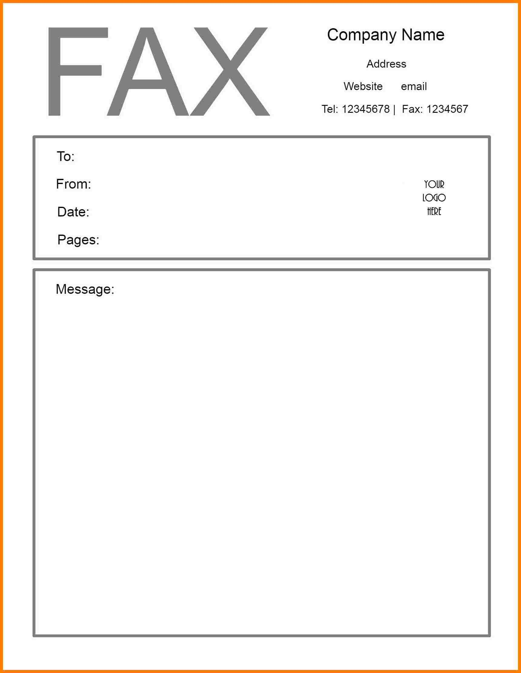 Printable Fax Cover Sheet Confidential Cover Sheet Template Fax Cover Sheet Cover Page Template Word Pdf fax cover sheet fillable