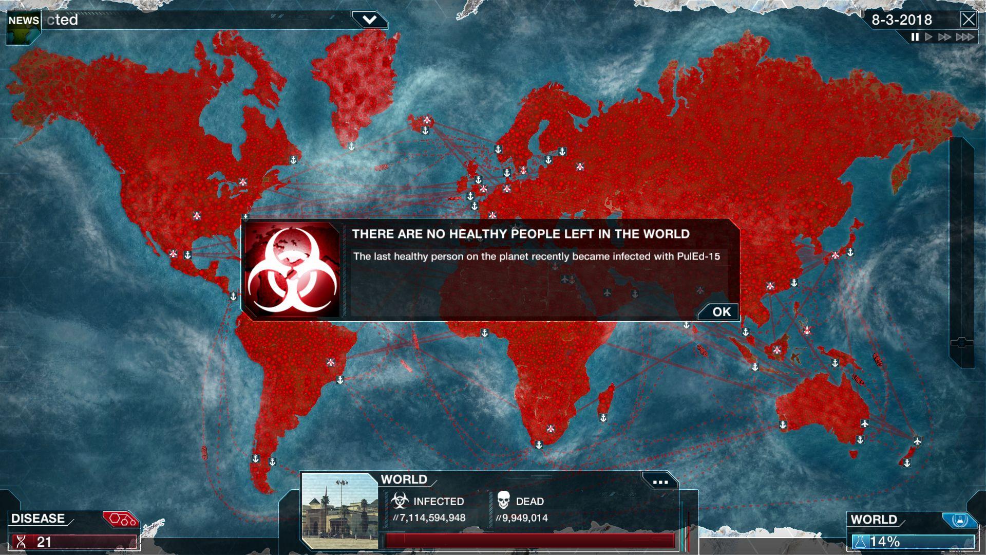 Plauge Inc Game Design Plague Different Games