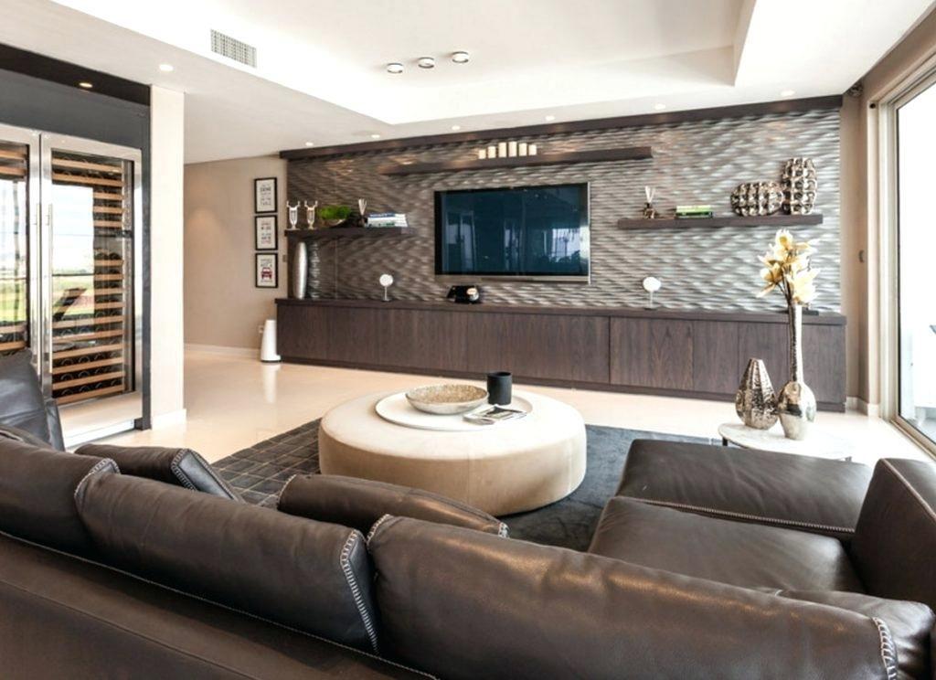 Modern Living Room With Large Tv Novocom Top