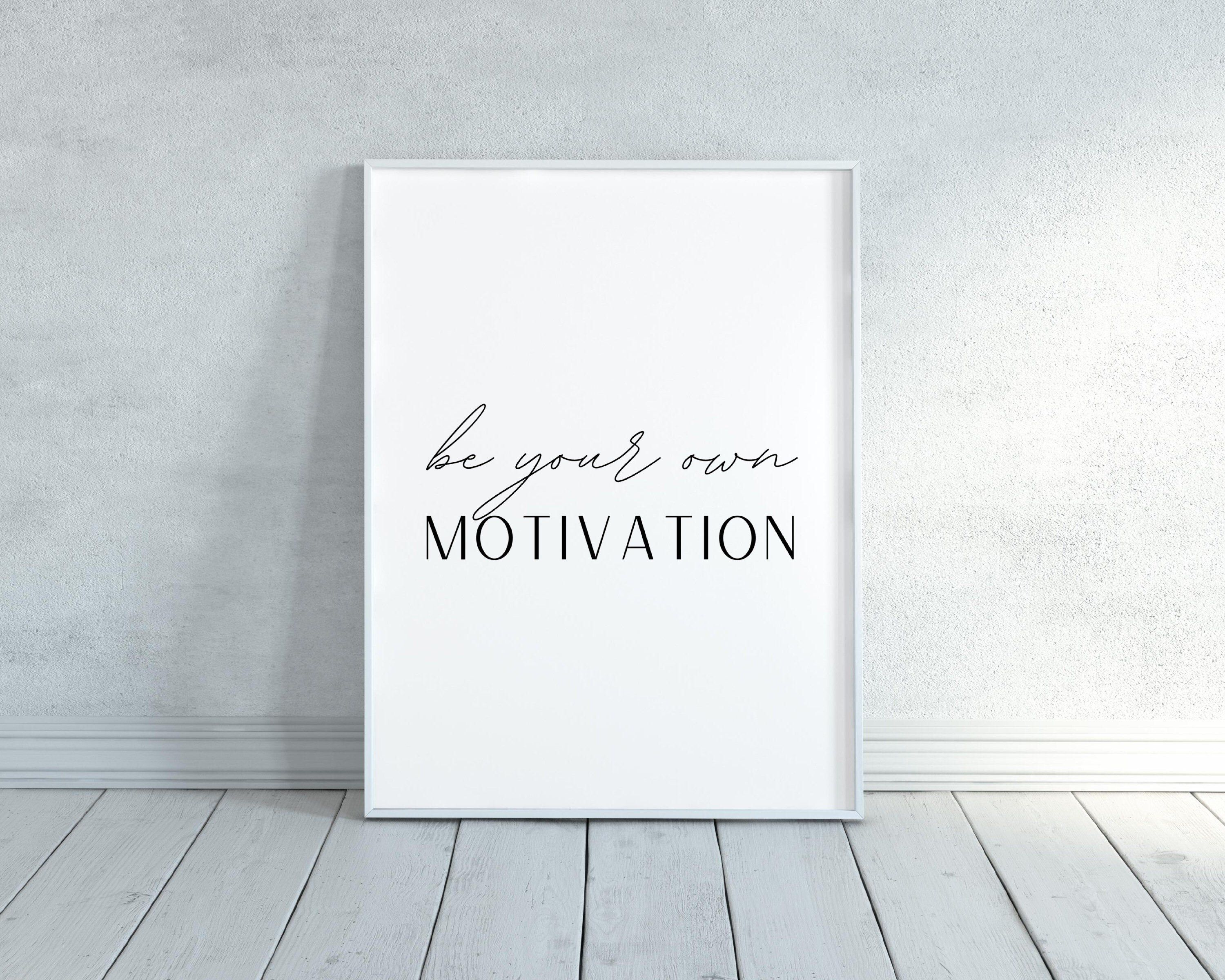 Motivational Quote Printable Poster Office Wall Decor Quote   Etsy