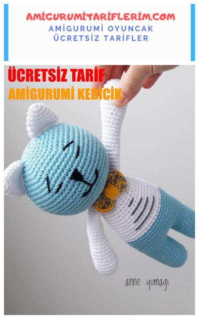 Amigurumi Sevimli Ayıcık Yapımı, 2020   Ayıcık, Amigurumi ...   1024x640