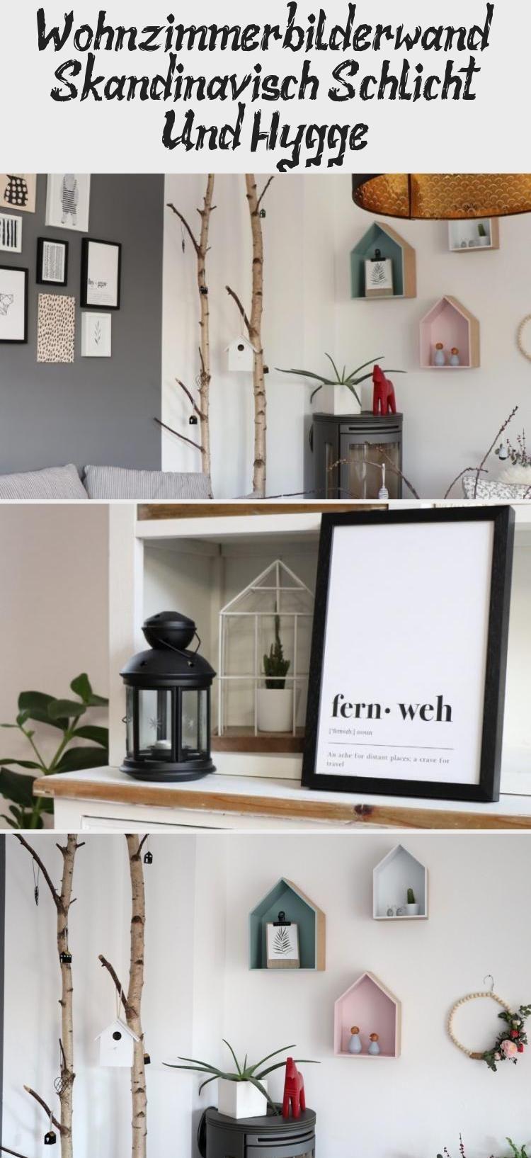 Wohnzimmer Bilderwand Skandinavisch Schlicht Und Hygge Home