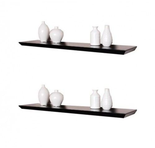 36 Inch Oliver Wall Shelf Display Floating Shelves Set Of 2 Black 54 99 Wall Shelf Display Wall Shelves Wooden Wall Shelves