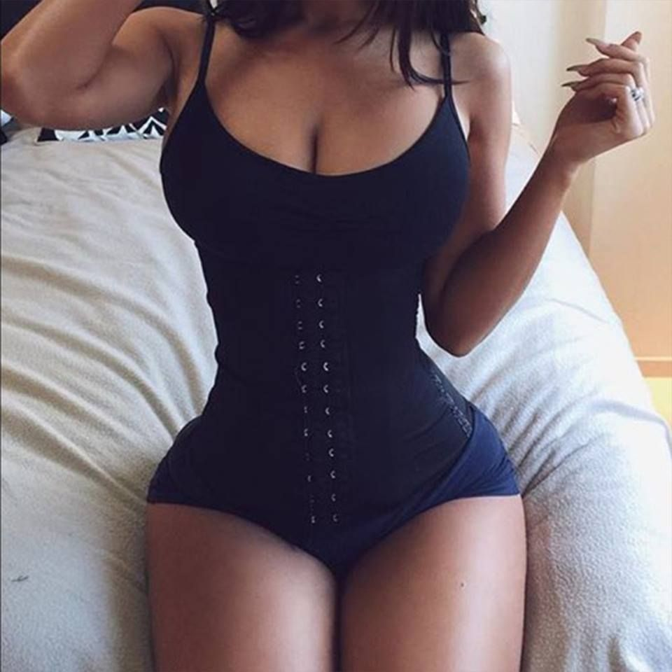 4f47eb1f8c We love how this babe looks in her Black Latex waist trainer. Summer is  right around the corner
