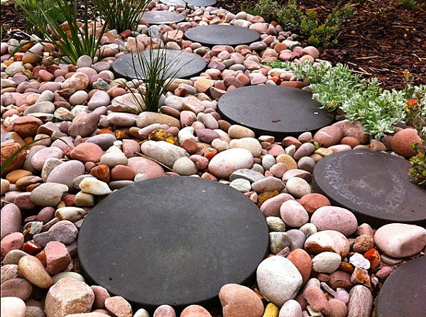 Garden Ideas With Pebbles