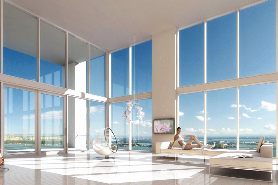 Miami Penthouse by Oppenheim Architecture Design Luxury