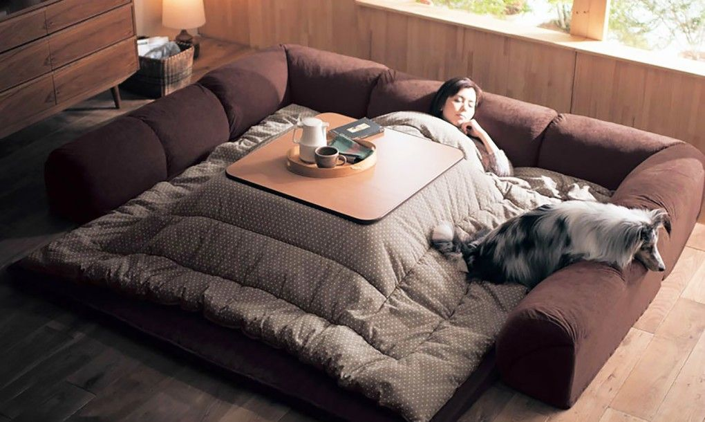 Japan-Kotatsu-heated-table-bed-5-1020x610 | Sweet Dreams Are Made Of ...