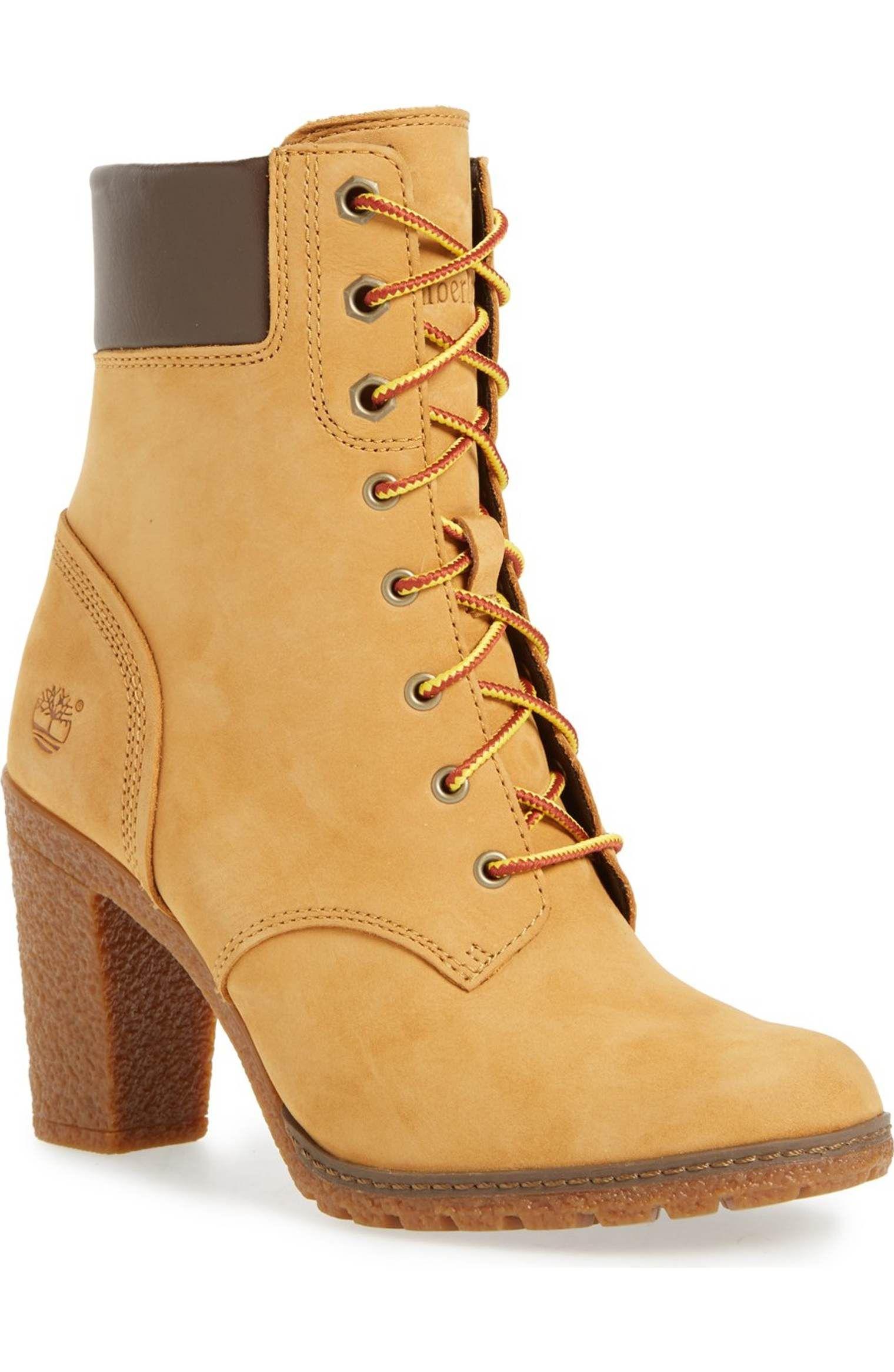 Timberland Glancy 6 Inch Ankle Boots Stiefeletten Schnürschuhe Damen Stiefel