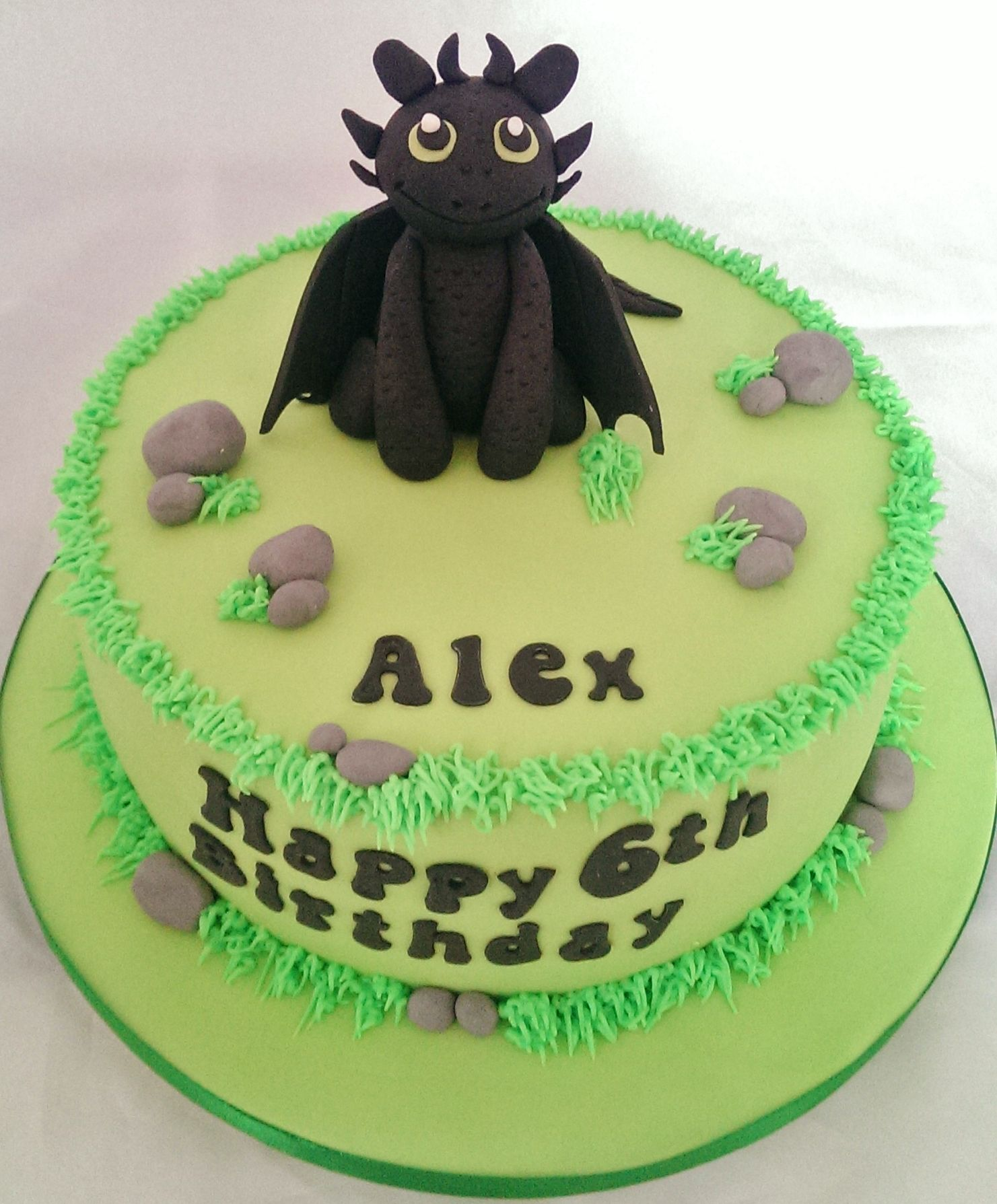 Kuchen Ideen Leicht: Toothless How To Train Your Dragon Cake