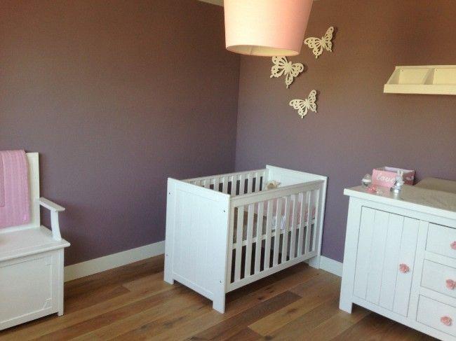 landelijke, romantische babykamer voor een meisje - babykamer, Deco ideeën