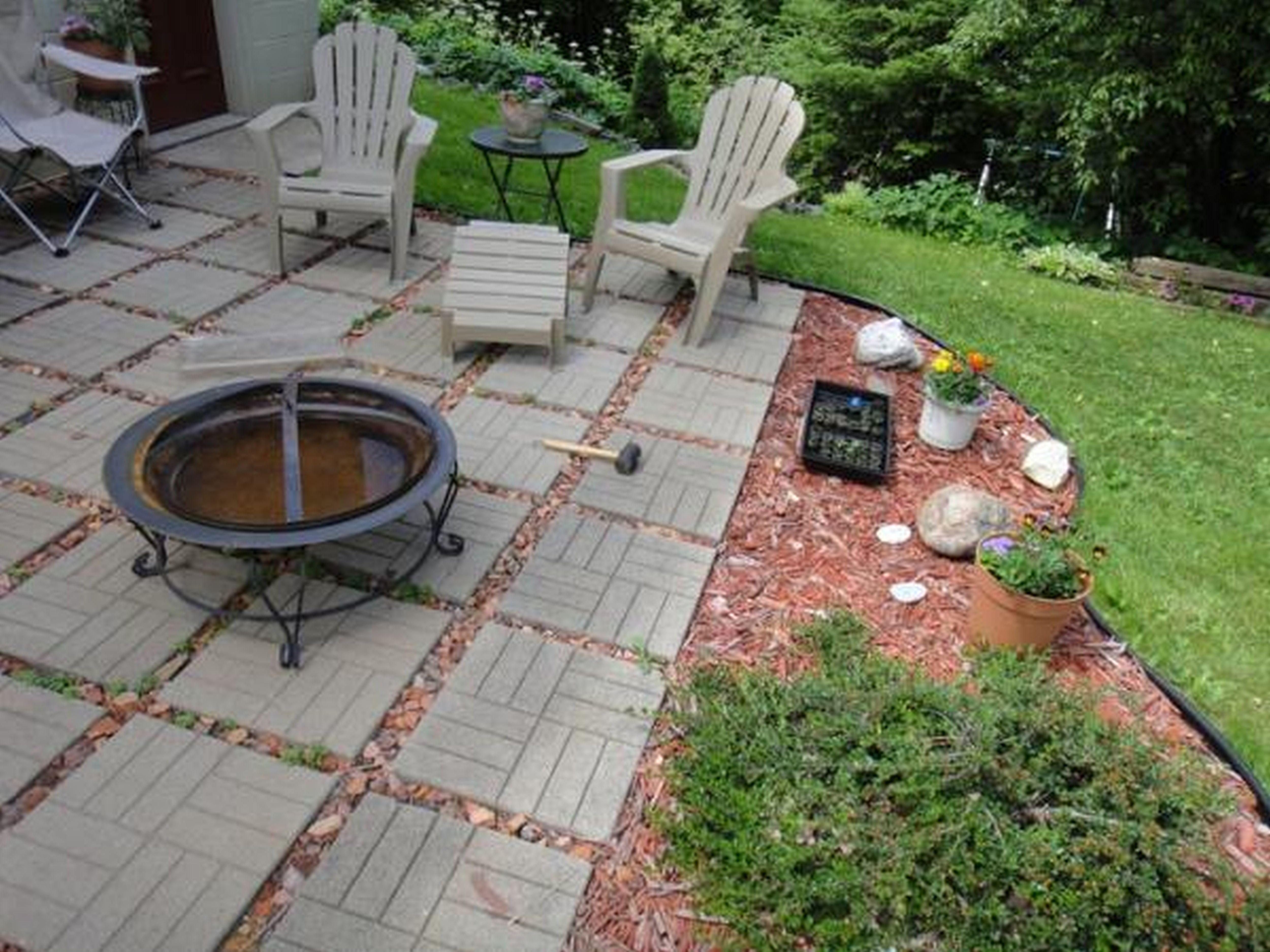 Inexpensive Patio Floor Ideas Small Backyard Landscaping Diy Backyard Landscaping Patio Landscaping