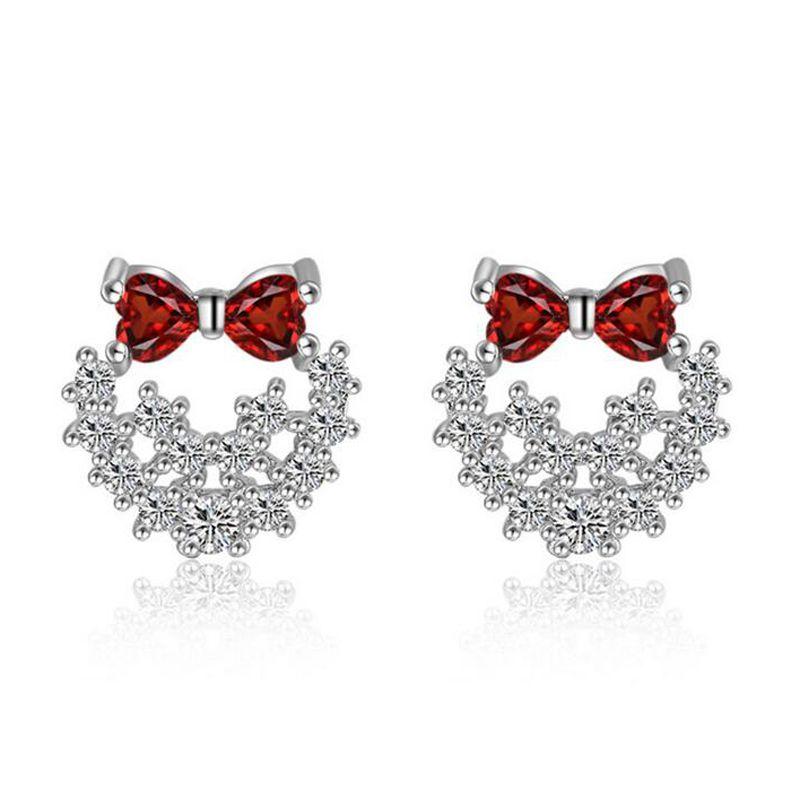 925 Sterling Silver Gemstone Jewellery Earrings for Women Ear Studs Gifts for Her 26WQMgqZjj