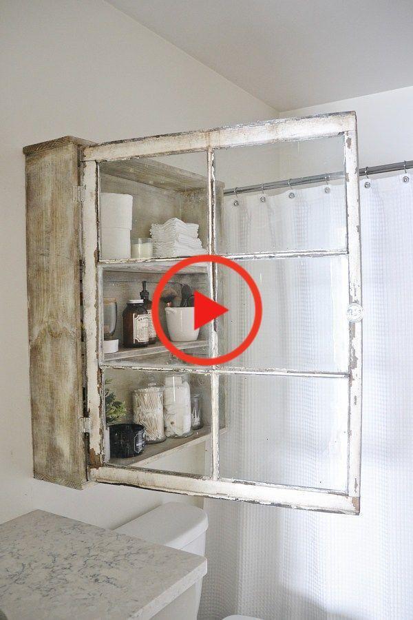 DIY Badezimmerschrank, Badezimmerschrank DIY