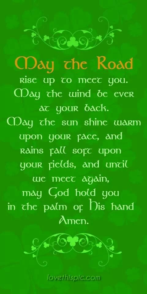 Irish saying until we meet again