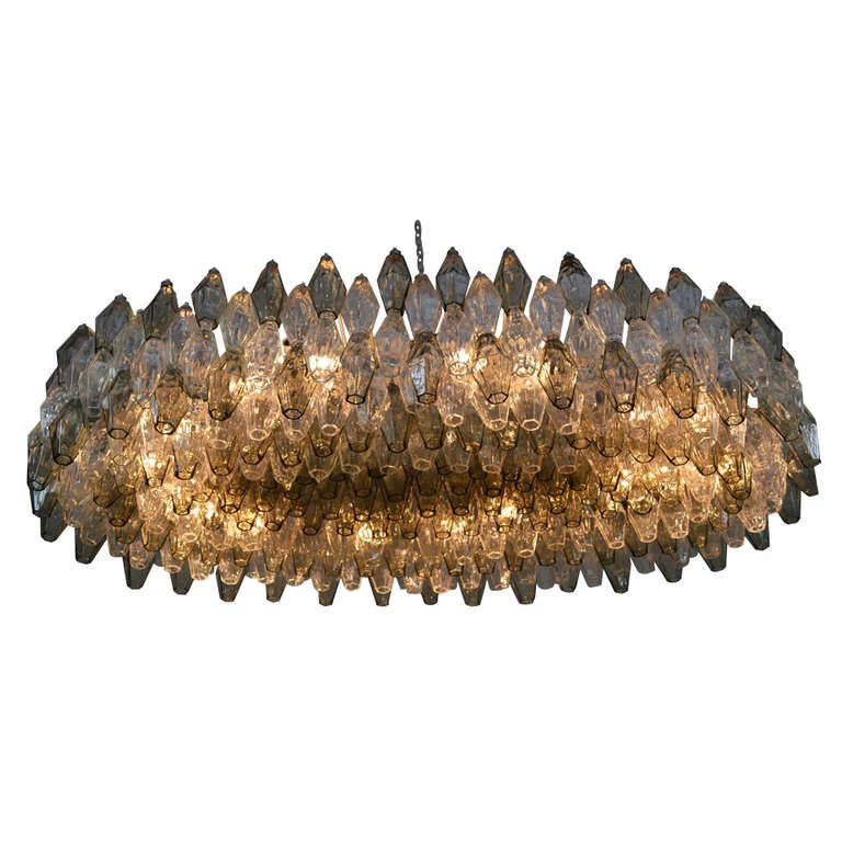 Carlo scarpa polyhedral venini chandelier chandeliers pendant carlo scarpa polyhedral venini chandelier mozeypictures Gallery