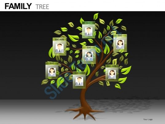 Family Tree Powerpoint Presentation Slides Db Slide01 Powerpoint