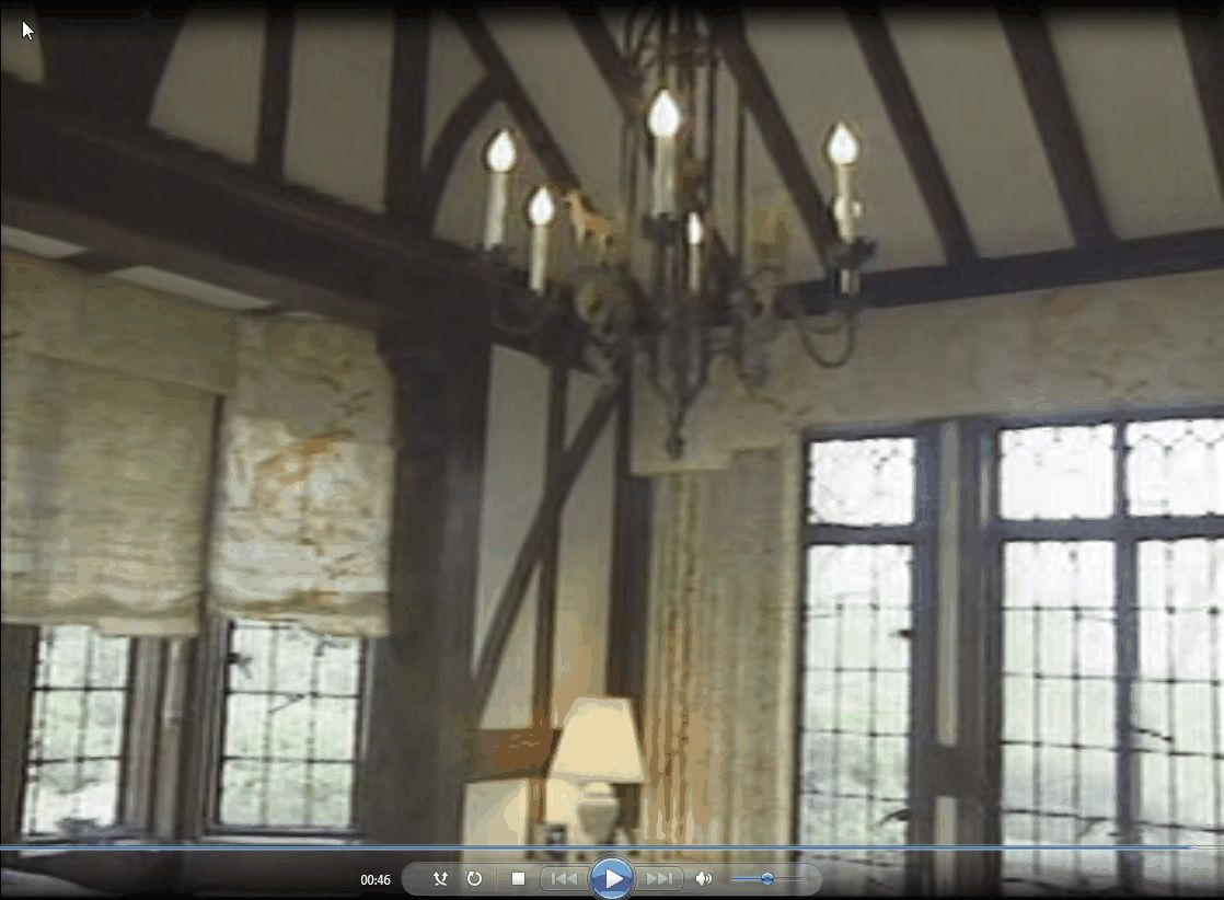 Timbered Sun Room